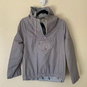 Vintage Eddie Bauer grey fisherman jacket